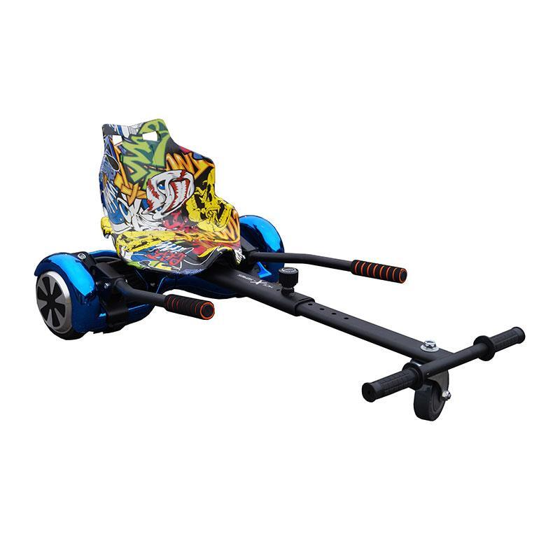 Hip Hop Yellow Racer Hoverkart