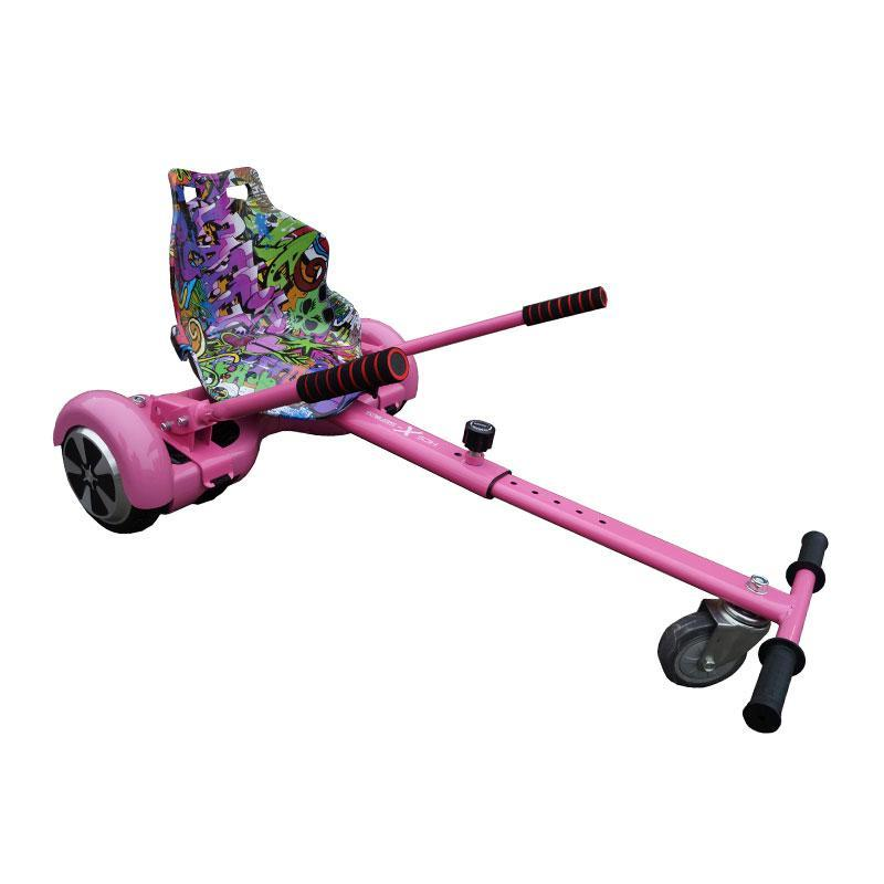 Graffiti Purple Racer Hoverkart