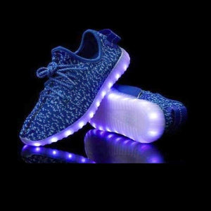 Flashez LED Footwear - Flashez Blue - L.E Deezy Shoes