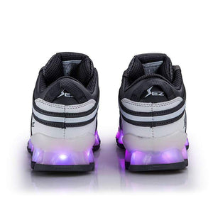 Flashez LED Footwear - Flashez LED S10's Grey/White