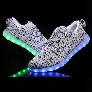 Flashez - White Led Chasers - Led Shoes