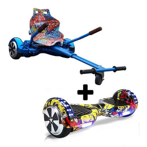 Graffiti Blue X LED Hip Hop Yellow Bundle