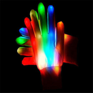 LED Gloves - Fully Glowing Light Up Gloves