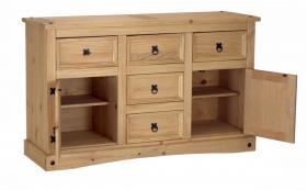 Corona Sideboard 2 Doors & 5 Drawers