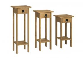 Corona Plant Stands - set of 3