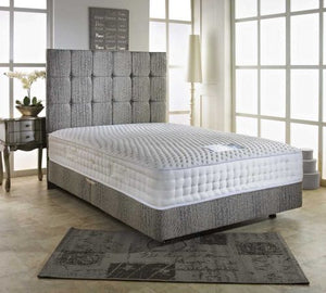 "Elegant Bed Set - 3ft , 4ft , 4ft6"", 5ft , 6ft"