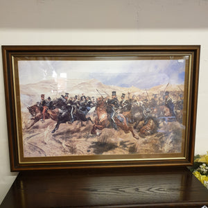 Large Cavalry Print by R. Caton Woodville