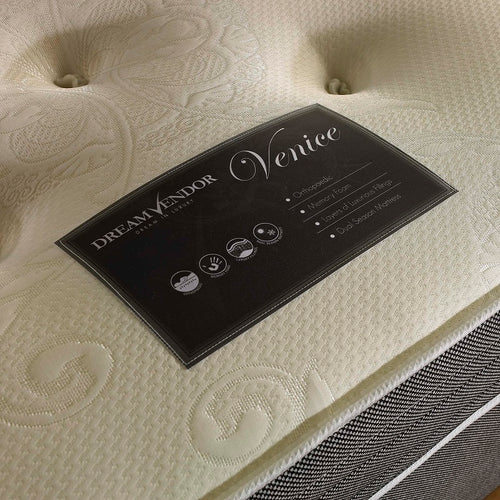 Venice Memory Foam Mattress - 3ft , 4ft , 4ft6