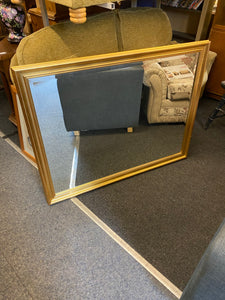 Large Gold Wall Hanging Mirror