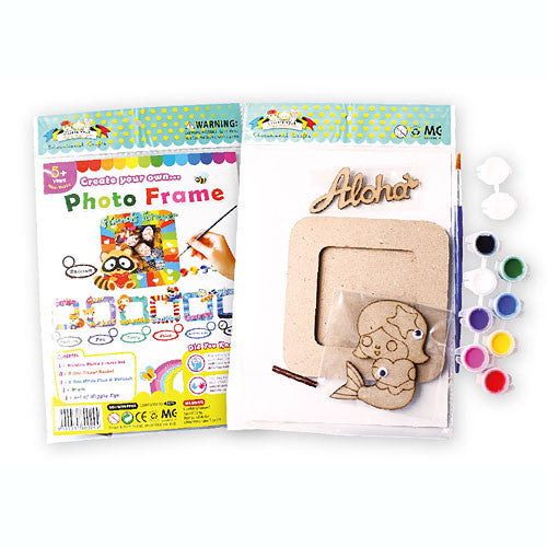 Create Your Own Photo Frame Kit Kidzz Cafe Online