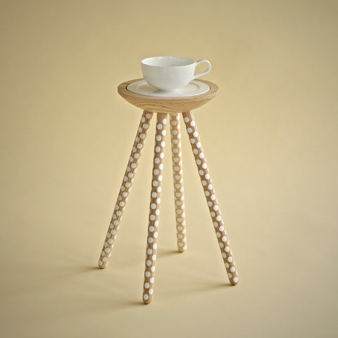 TEA FOR ONE TABLE WITH DOTS (LIMITED EDITION)