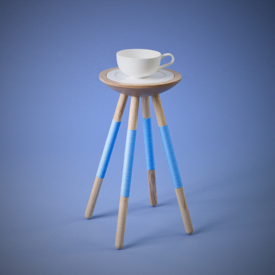 TEA FOR ONE TABLE IN BLUE
