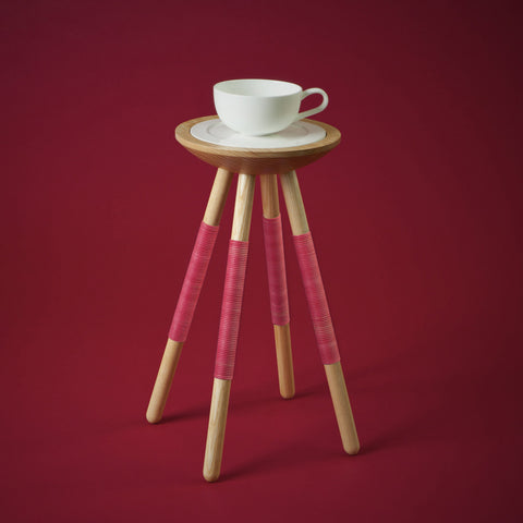 TEA FOR ONE TABLE IN RED
