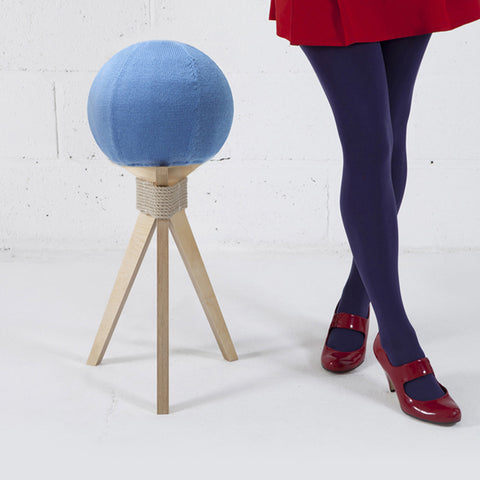 DANDELION STOOL IN BLUE