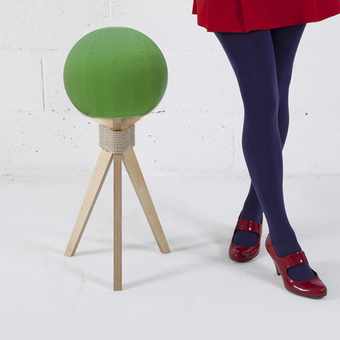 DANDELION STOOL IN GREEN