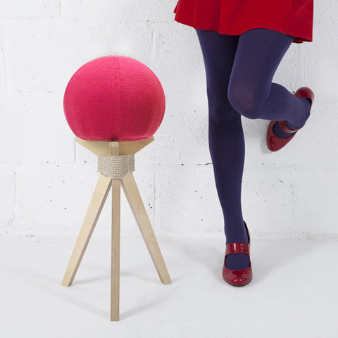 DANDELION STOOL IN RED