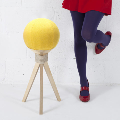 DANDELION STOOL IN YELLOW