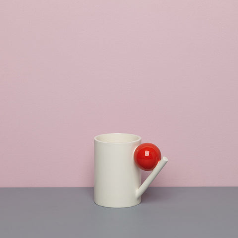 GEOMETRIC MUG_RED BALL