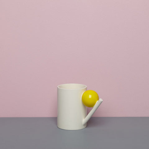 GEOMETRIC MUG_YELLOW BALL