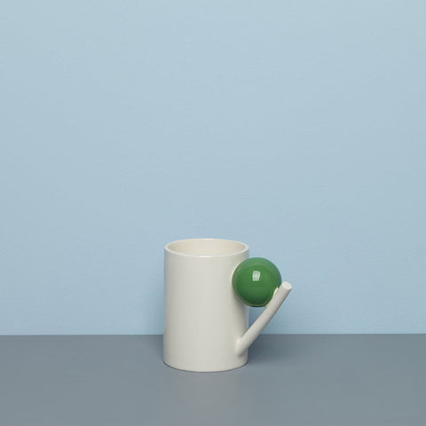 GEOMETRIC MUG_GREEN BALL