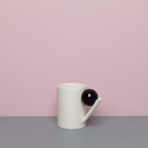 GEOMETRIC MUG_BLACK BALL