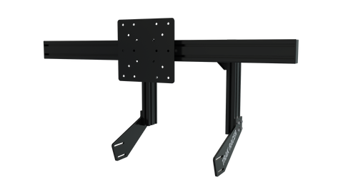 TR8020 Black Cockpit-Mounted Single Monitor Stand with VESA Mount