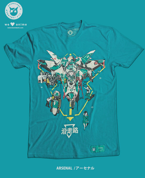 Arsenal Anime T-shirt by Boomslank