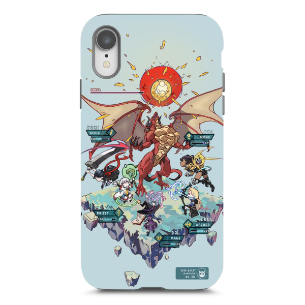 Side Quest iPhone XR Case