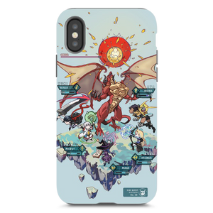 Side Quest iPhone XS Case