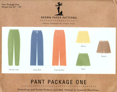 Brown Paper pants