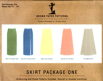 Brown Paper skirt