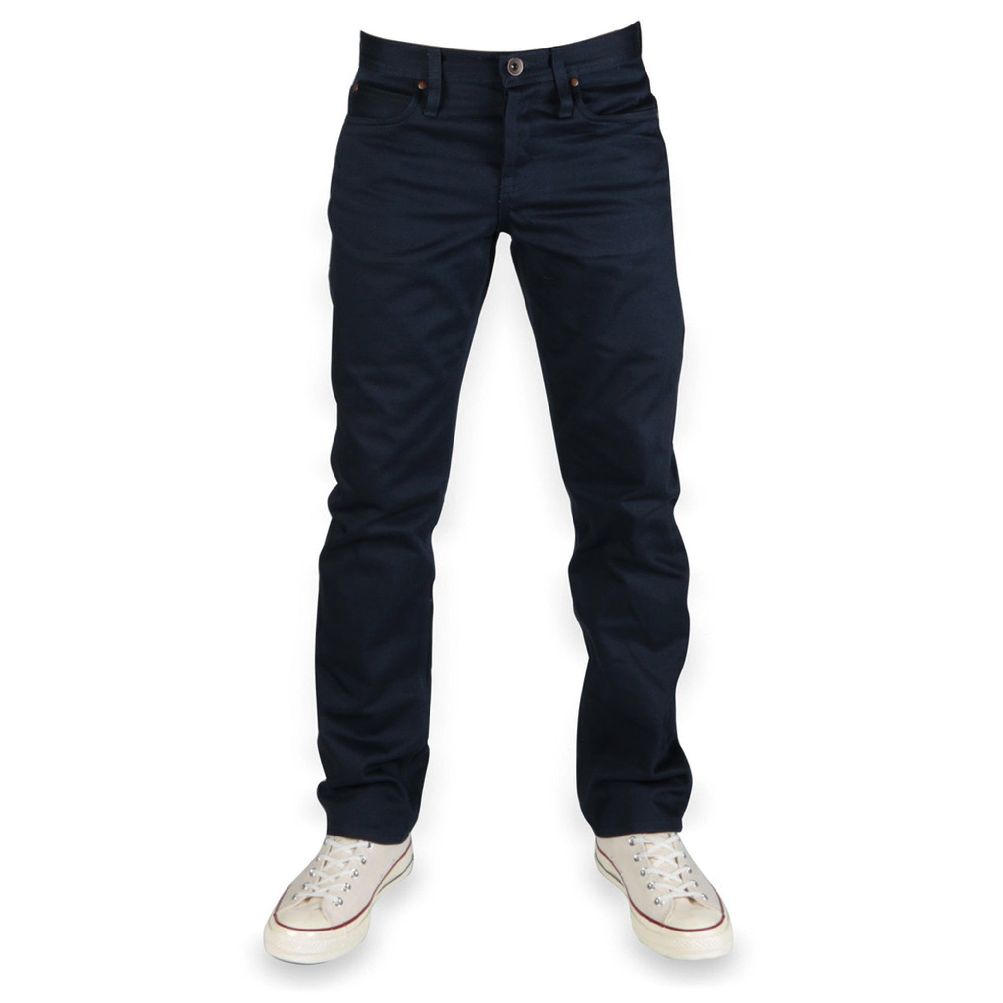 UB108 Skinny Fit 13oz Navy Selvedge Chino