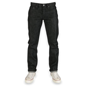 UB204 Tapered Fit 14.5oz Black Selvedge Denim