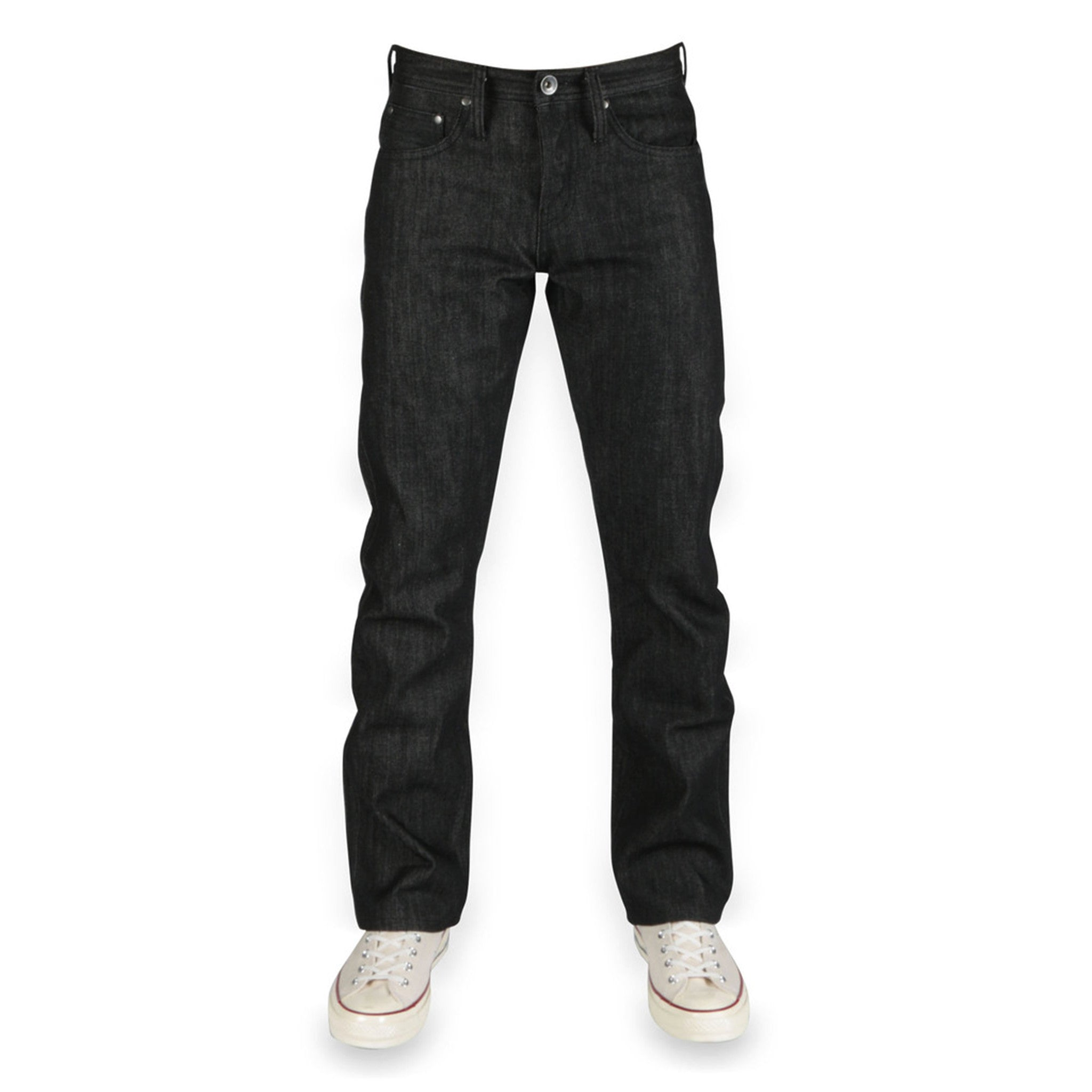 UB304 Straight Fit 14.5oz Black Selvedge Denim