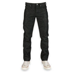 UB404 Tight Fit 14.5oz Black Selvedge Denim