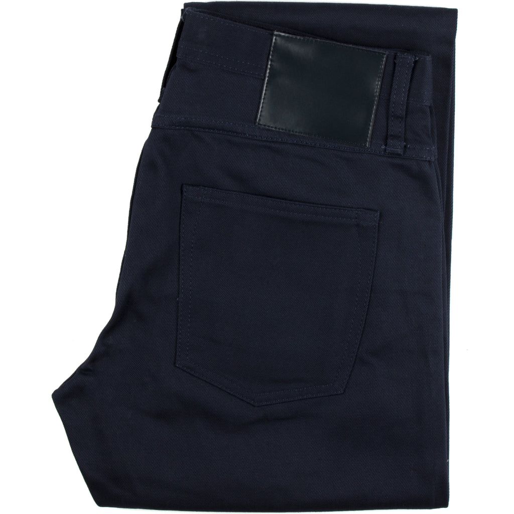 UB308 Straight Fit 13oz Navy Selvedge Chino