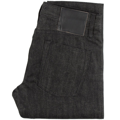 UB431 Tight Fit Heavyweight 21oz Indigo x Black Tonal Selvedge