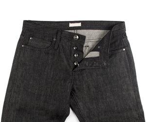 UB104 Skinny Fit 14.5oz Black Selvedge Denim