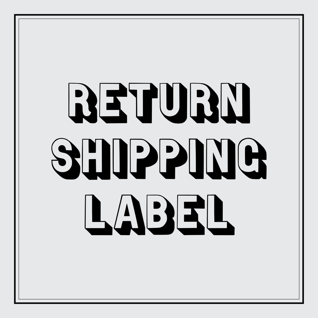 Return Shipping Label - USA