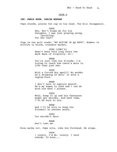 Book 1, Page 4 (Behind the Scenes)