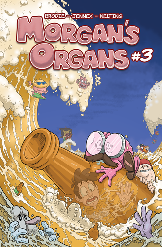 Morgan's Organs #3 (Digital)