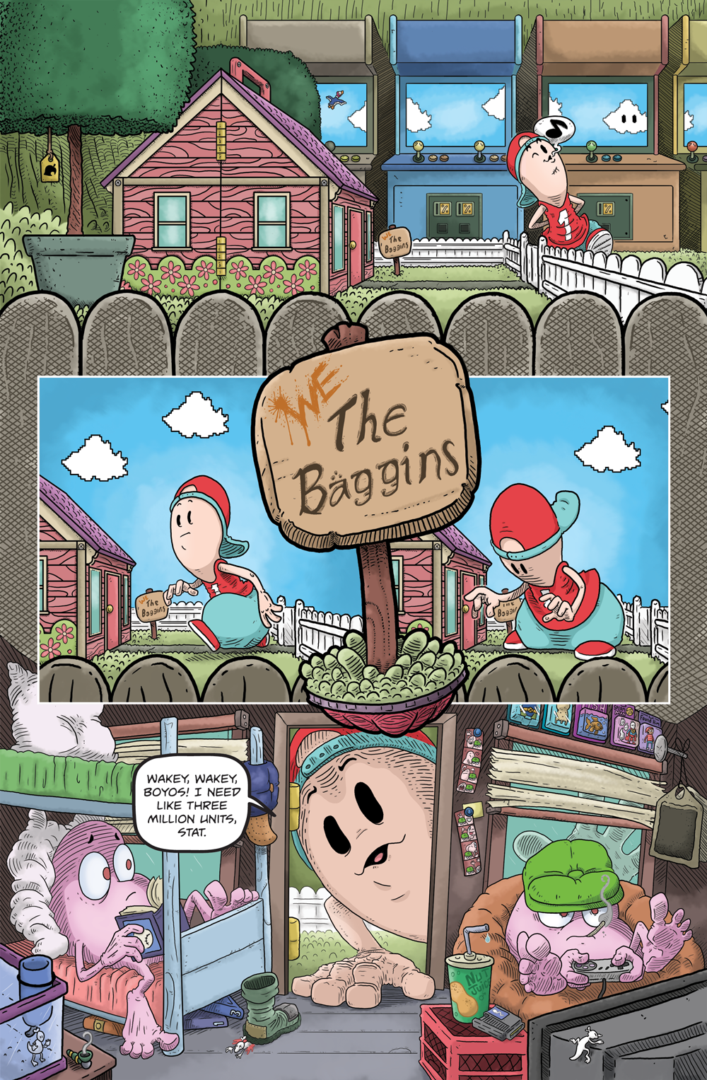 Book 4, Page 1 (Behind the Scenes)