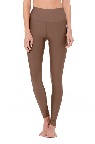 High-Waist Airlift Legging, coco