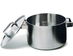 Tools: Casserole W/Lid CA Modern Home brushed stainless steel