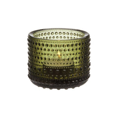 "Kastehelmi Votive Tealight Candleholder 2.5"" Candles and Candleholders iittala MOSS GREEN"