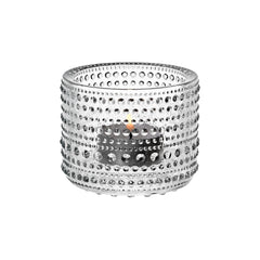 "Kastehelmi Votive Tealight Candleholder 2.5"" Candles and Candleholders iittala CLEAR"