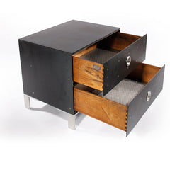 Fleet Night Stand - Hot-Rolled side/end table Jesse Brody Design Studios