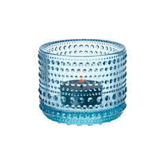"Kastehelmi Votive Tealight Candleholder 2.5"" Candles and Candleholders iittala LIGHT BLUE"