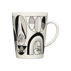 Iittala Graphics Mug Shaped/Shifted Graphic Mug iittala