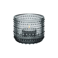 "Kastehelmi Votive Tealight Candleholder 2.5"" Candles and Candleholders iittala GREY"